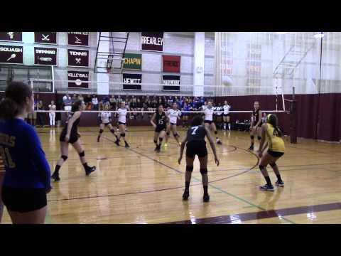 Varsity Volleyball: Chapin vs Poly Prep at Brearley/Dalton Invitational 2015