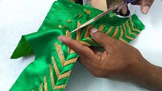 beautiful and simple blouse back neck designing || Womens fashion blouses || new model blouse