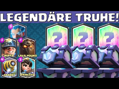 SUPER LEGENDÄRE TRUHE! || CLASH ROYALE || Let'sPlay CR [Deutsch German HD]