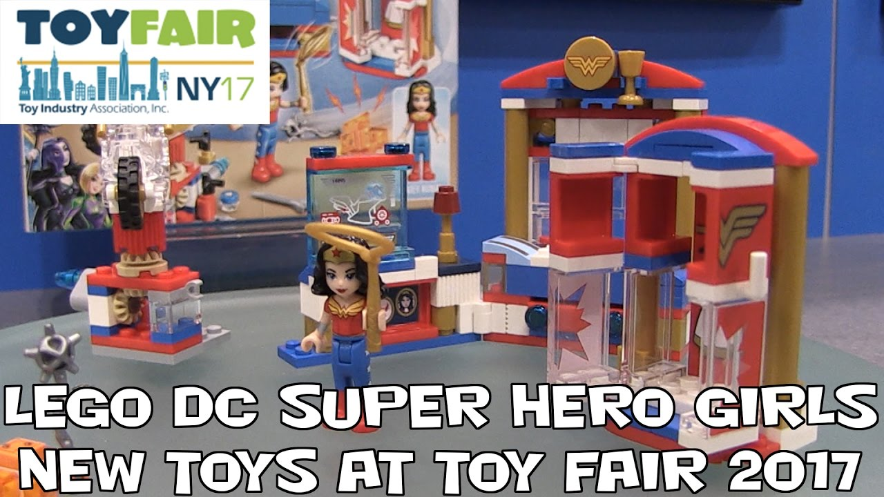 Lego Dc Super Hero Girls New Sets At New York Toy Fair