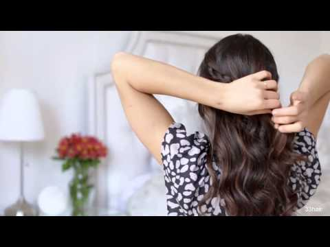 Видео прически в домашних условиях