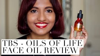 The Body Shop - Oils of Life Face Oil Review // Magali Vaz