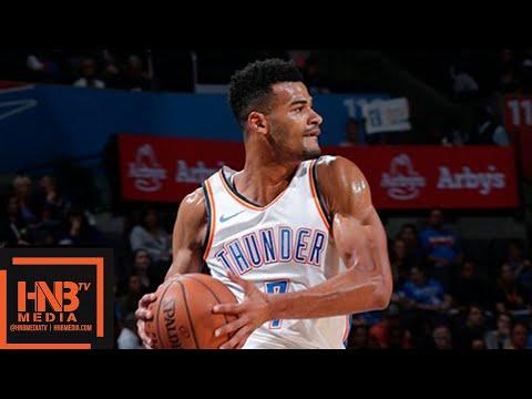 Oklahoma City Thunder vs Detroit Pistons 1st Half Highlights | 03.10.2018, NBA Preseason