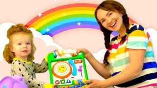 Kids Color Song I Sasha Kids Channel Nursery Rhymes & Songs