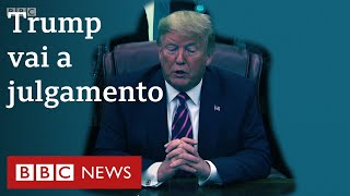 Por que Trump é alvo de impeachment?