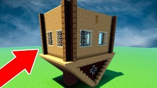 CASA INVERTIDA 99% PROTEGIDA NO MINECRAFT!!