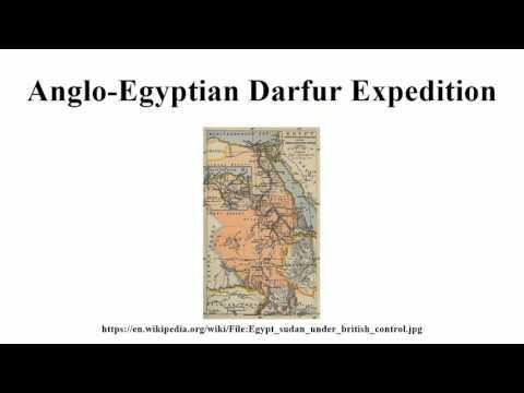 Anglo-Egyptian Darfur Expedition