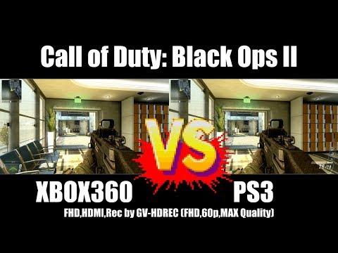 [4K比較] XBOX360 vs PS3 - Call of Duty: Black Ops II [GV-HDREC]