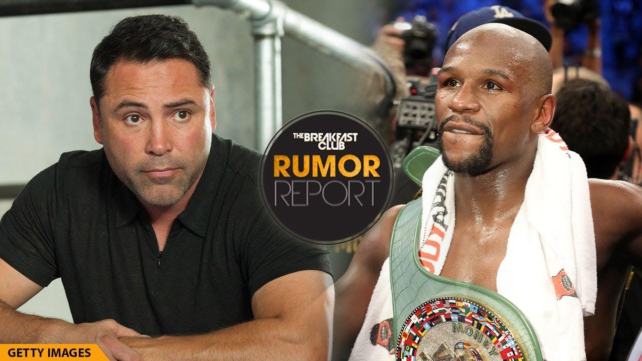 Oscar De La Hoya Calls Out Floyd Mayweather For $100M Fight