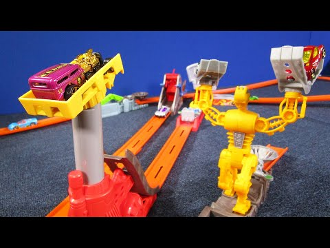 Trick Tracks Shock Ramp Chain Reaction Hot Wheels Track Sets