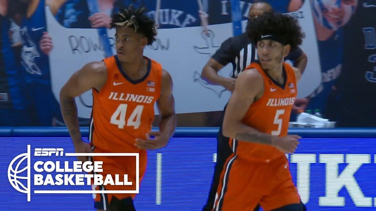No. 6 Illinois rolls vs. No. 10 Duke [HIGHLIGHTS] | ESPN College Basketball