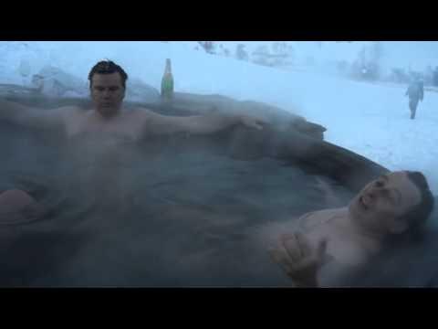 Впечатления от купания в банном чане на костре