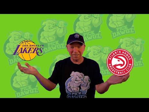 Los Angeles Lakers vs Atlanta Hawks 3/20/21 Free NBA Pick and Prediction NBA Betting Tips