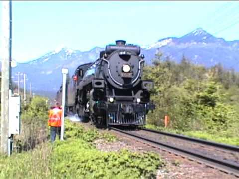 CPR 2816 Steam Empress (E. Hunter Harrison is GONE!!!)