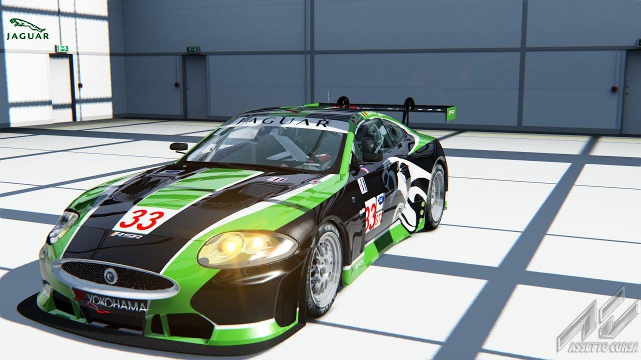 Assetto Corsa Car Mod: Jaguar XKR GT2 @ Brands Hatch-GP ...