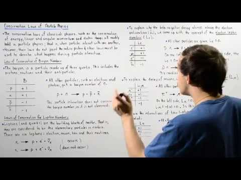 Laws of Conservation Lepton and Baryon Number