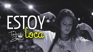 Mc Tati Zaqui - Estoy Loca (Dj Rhuivo) (Lyric Video)