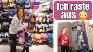 Zu viel für mich 🙈 Einkaufen mit 3 Kindern! Schulranzen für Clara | Shopping Haul VLOG | Mamiseelen