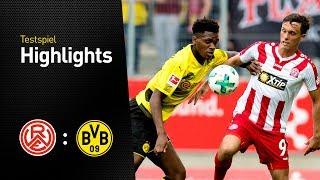 Highlights: Rot-Weiss Essen - Borussia Dortmund 3:2 (Testspiel 2017)
