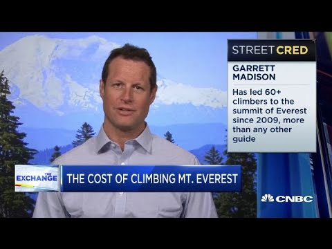 Here's How Much It Could Cost To Climb Mount Everest