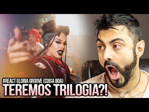 REAGINDO a Gloria Groove - Coisa Boa