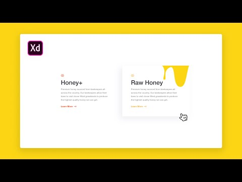 Adobe XD Hover Effect Design & Prototype Tutorial thumbnail