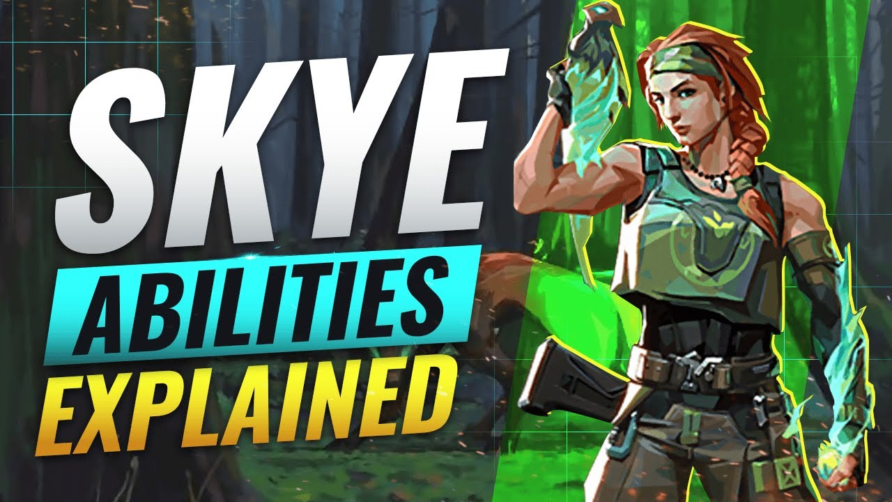 NEW AGENT SKYE: ALL ABILITIES REVEALED – Valorant