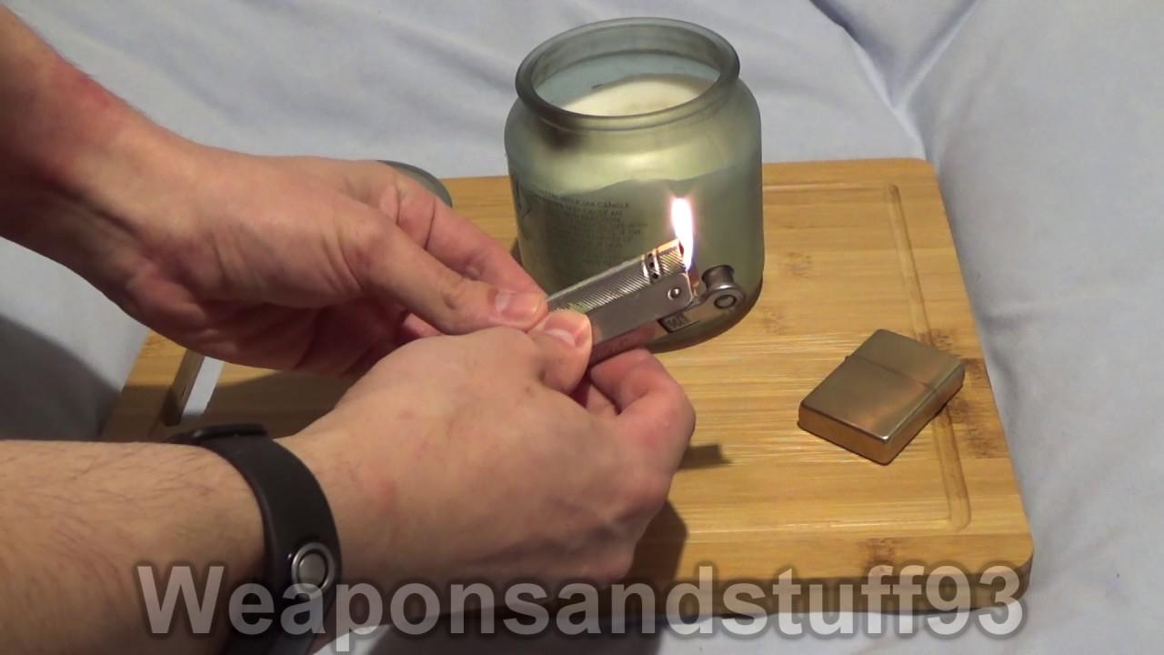 IMCO 6600 Junior lighter demonstration
