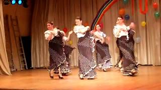 spanish dance lessons  1  ( УРОКИ ИСПАНСКИХ ТАНЦЕВ) Спб 2010