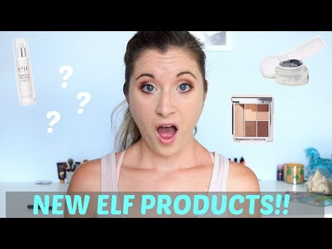 E.L.F Haul & Try on! | Magnetic Mask + More!!
