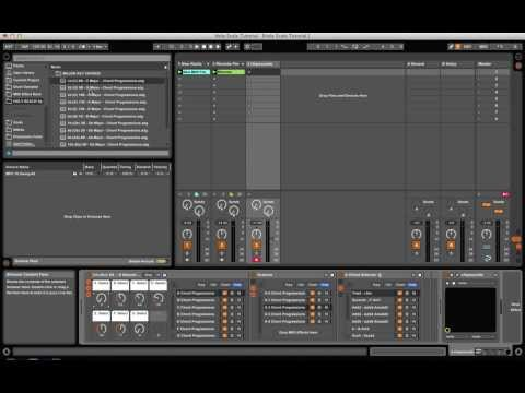 HOLY SCALE! Ableton Chord Progression Midi Preset Pack FREE DOWNLOAD