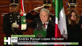 Primer Grito de Independencia de AMLO