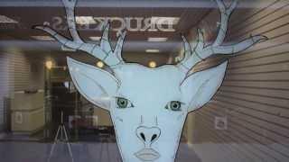 David Yarnell ART - LADYMUCK VINTAGE SHOP WINDOW