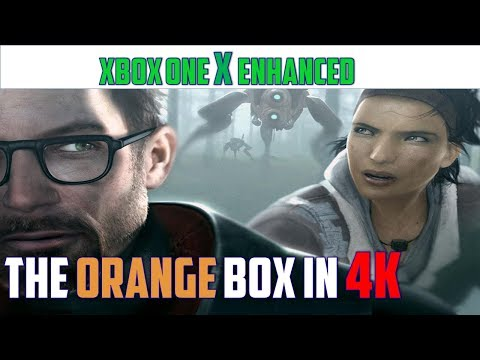 The Orange Box | X enhanced graphics & frame rate analysis X