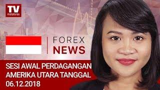 InstaForex tv news: 06.12.2018: USD dan CAD dengan fokus pada: EUR/USD, USDX, USD/CAD