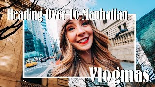 "Heading Over To Manhattan & We Found ""The Tree"" 