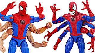 Avengers Spider-Man Six-arm VS Demogoblin Six-hand! | DuDuPopTOY