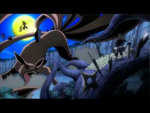 Naruto Shippuden Uchiha Madara & Kyuubi vs Shodaime Hokage Senju Hashirama OVA RUS [OzZu]