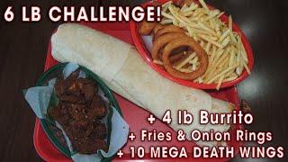 Mexigo Burrito Challenge Undefeated 6lb