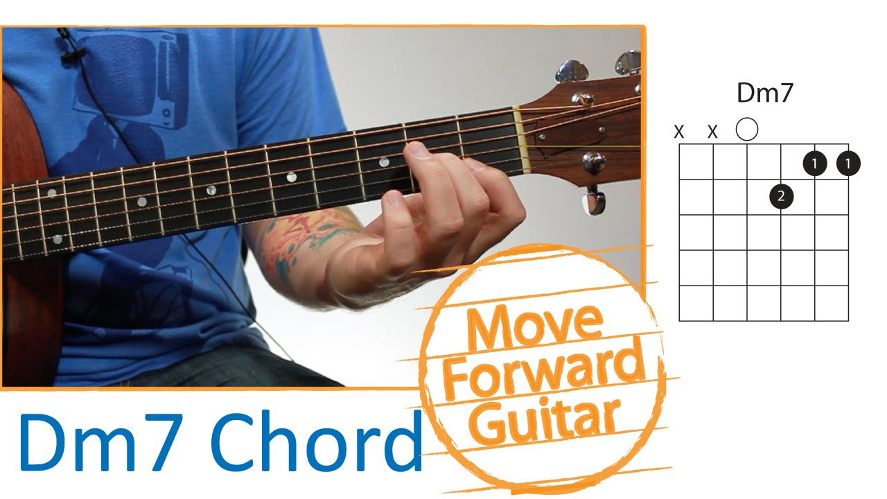 Guitar Chords For Beginners Dm7 Youtube