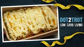 Low Carb Enchiladas Using Thrive Market Tortillas