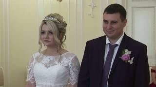 Видео регистрации. Свадьба. Дом Семейный Торжеств и Прима ТВ.