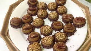 Salted Maca Caramel Cookies ~ Live Dessert