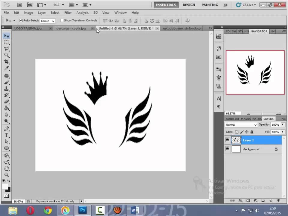 Como crear un logotipo de tu equipo de futbol youtube for Logos para editar