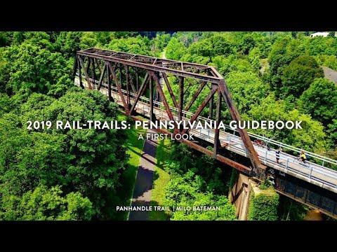 2019 Rail-Trails Pennsylvania Guidebook: First Look