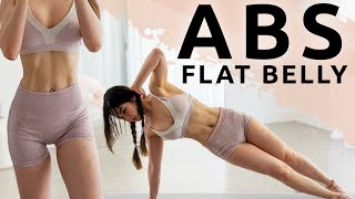 Get Abs & Flat Stomach Workout | Flat Stomach Challenge 2021