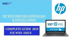 HP WiFi drivers download and Complete Installation process 2020