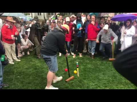 Annapolis Cup Croquet 2017 | Winning Shot