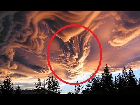 MOST Mysterious Cloud Formation Photos