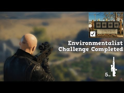 HITMAN New Mission The Vector Colorado Environmentalist Patient Zero